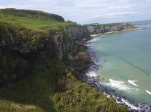 峭壁爱尔兰 免版税库存图片