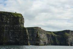 峭壁爱尔兰moher 免版税库存图片