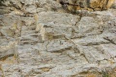 峭壁石头 库存照片