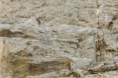 峭壁石头 库存图片