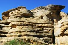 峭壁砂岩 免版税图库摄影