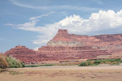 峭壁科罗拉多红河 免版税库存图片