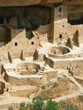 峭壁科罗拉多mesa国家宫殿公园verde 免版税库存图片