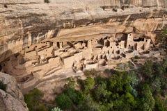 峭壁科罗拉多mesa国家宫殿公园verde 库存照片