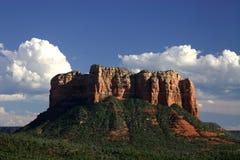 峭壁红色岩石sedona 免版税库存图片