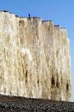 峭壁英国白色 免版税库存照片