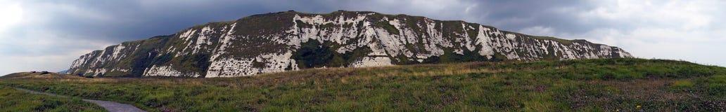 峭壁范围 库存图片