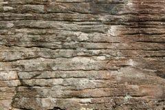峭壁表面岩石纹理 免版税库存图片