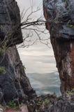 峭壁视图 免版税图库摄影