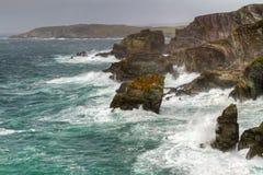 峭壁顶头爱尔兰语mizen 免版税库存图片
