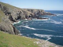 峭壁顶头爱尔兰mizen 免版税库存图片