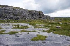 峭壁风景 爱尔兰 图库摄影
