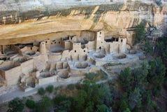 峭壁mesa宫殿verde 库存照片