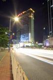 仁峰大厦在晚上 图库摄影