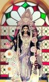 印度女神神象 库存照片