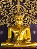 崇拜的菩萨雕象在泰国 库存照片