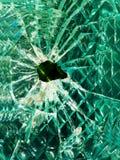 崩裂玻璃 图库摄影