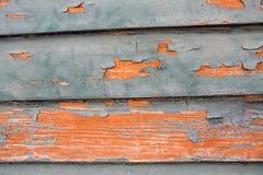崩裂的老油漆 库存图片