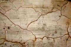 崩裂老墙壁 免版税库存照片