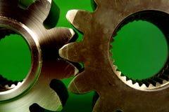 嵌齿轮想法轮子 库存图片