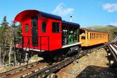 嵌齿轮挂接铁路华盛顿 库存照片