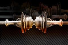 嵌齿轮机器 库存图片