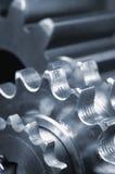 嵌齿轮概念齿轮 库存照片