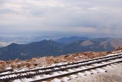 嵌齿轮科罗拉多跟踪 免版税库存照片