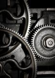 嵌齿轮设备配合 免版税库存图片