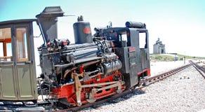 嵌齿轮路轨蒸汽机车 库存照片