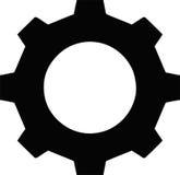 嵌齿轮钝齿轮 免版税库存照片