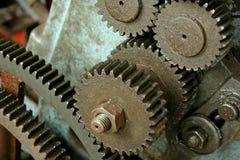 嵌齿轮齿轮设备 库存图片