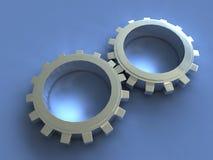 嵌齿轮 向量例证