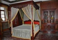 满州国皇家宫殿  库存照片