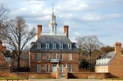 州长宫殿s VA威廉斯堡 库存照片