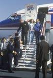 州长比尔・克林顿 库存照片