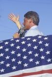 州长比尔・克林顿 图库摄影