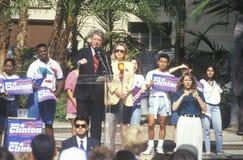州长比尔・克林顿 免版税库存照片