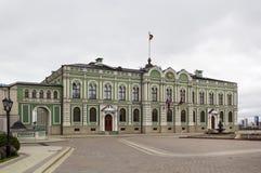 州长的宫殿,喀山 免版税库存照片