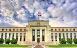 州长美国联邦储备委员会在华盛顿, D C 库存图片