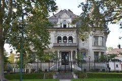 州长` s豪宅在盐湖城,犹他 库存照片