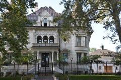 州长` s豪宅在盐湖城,犹他 免版税库存图片