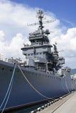 巡洋舰 库存照片