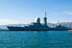 巡洋舰 图库摄影