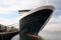 巡航划线员海洋船假期 免版税库存照片
