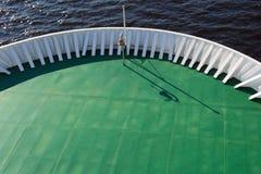巡航划线员 船的抽象背景 免版税库存图片