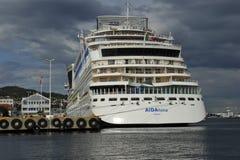巡航划线员AIDALuna 免版税库存图片