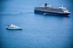 巡航和游艇 库存照片