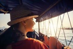 巡航在安达曼海 图库摄影