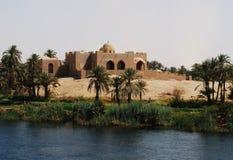 巡航在尼罗河,乡下,埃及南部 图库摄影